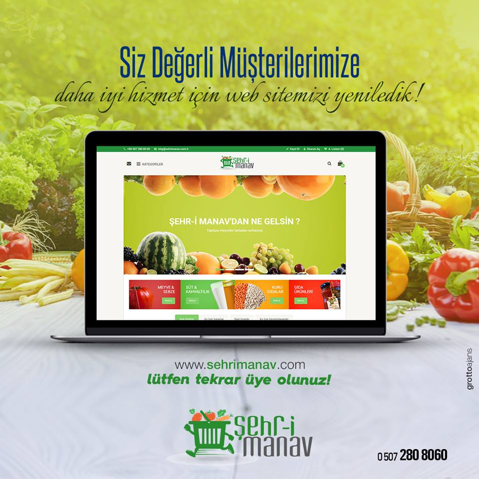 Şehr-i Manav Web Sitesi